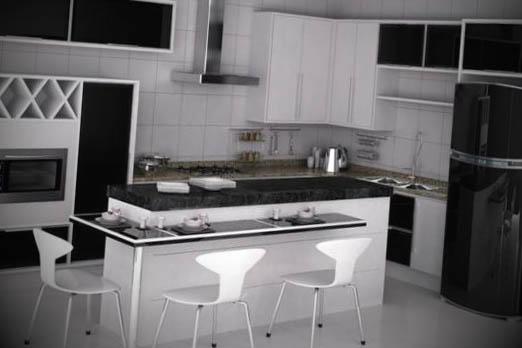 cozinhas planejadas apartamentos pequenos