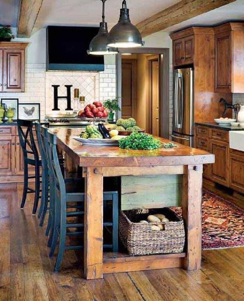 cozinhas rusticas modernas 6