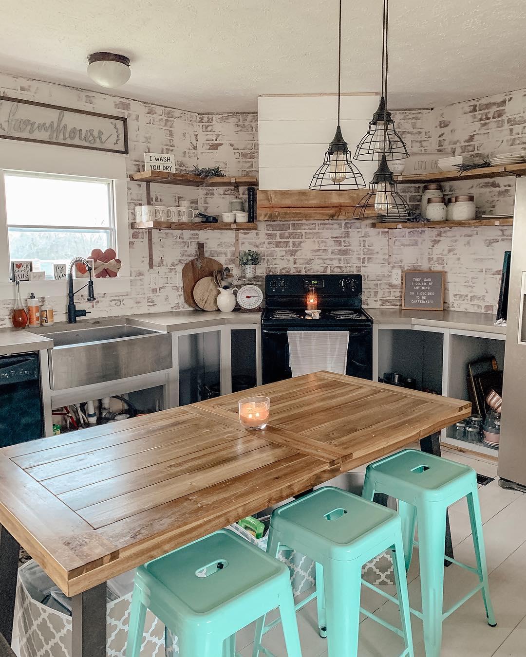 cozinhas rusticas modernas 9