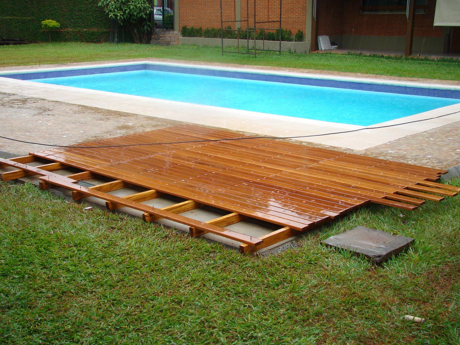 deck de madeira modelo