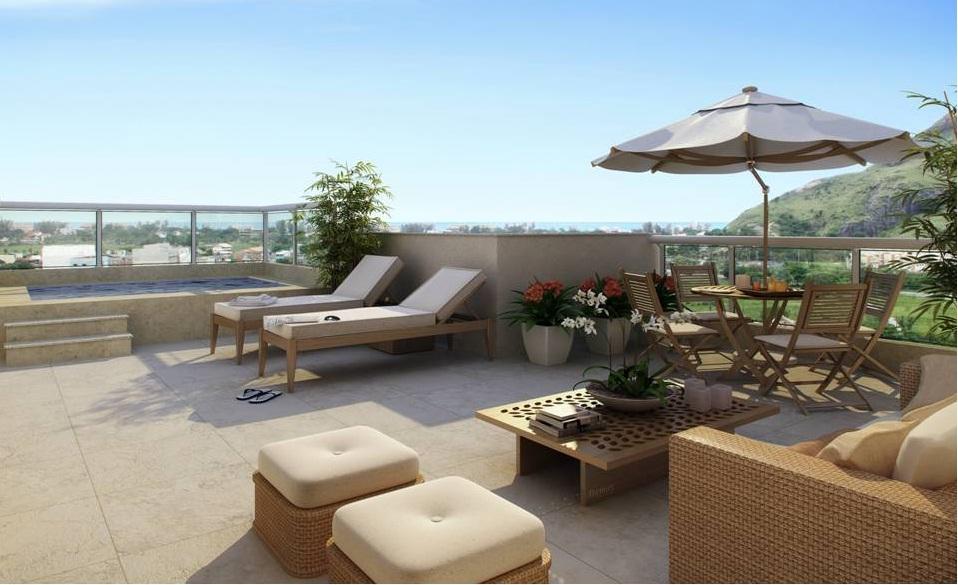 decoração de terraços