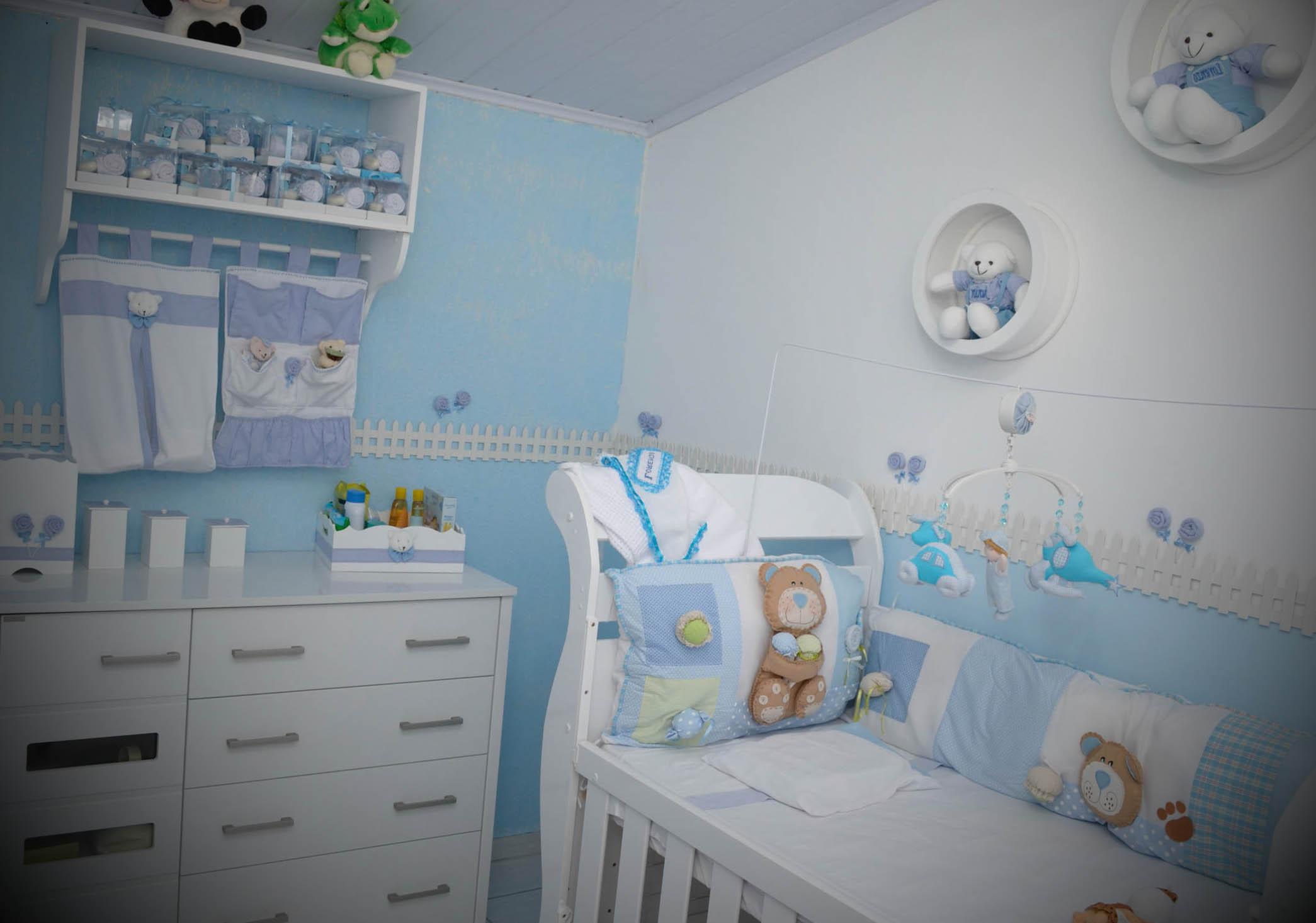 decoração para quarto do bebê masculino