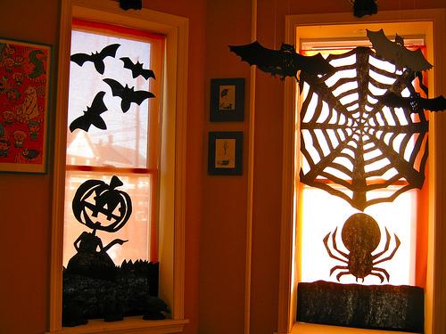 decoraçao halloween janela1