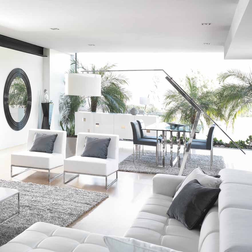 decoracao ambientes minimalista