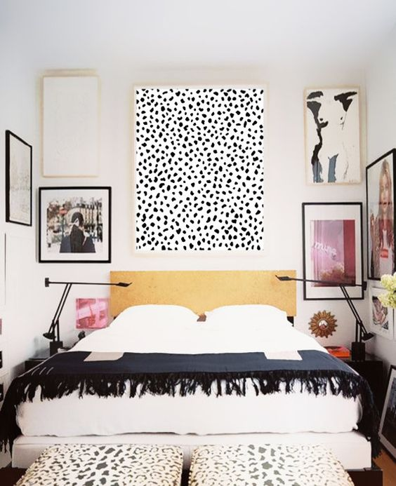 decoracao animal print quarto