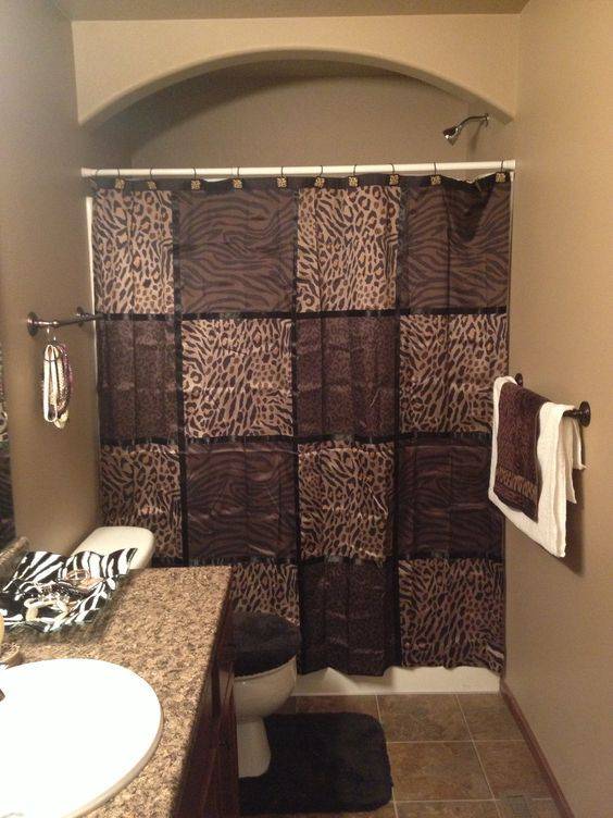 decoracao animal print toalha