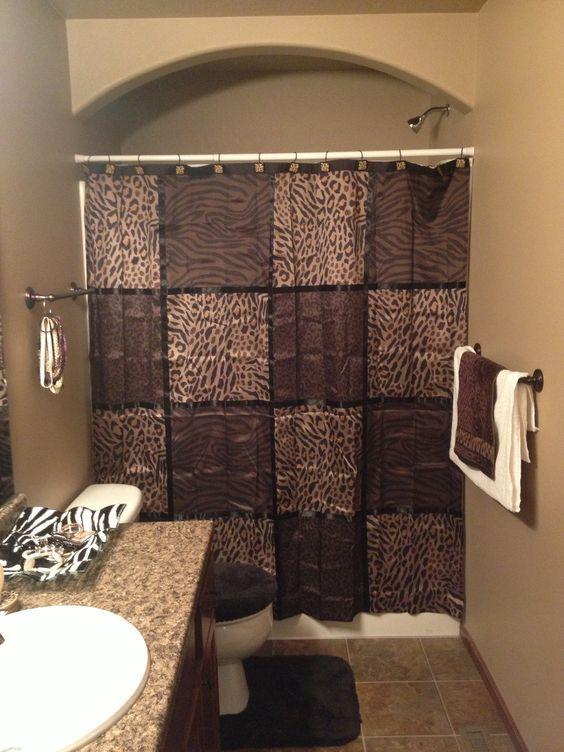 decoracao animal print toalha