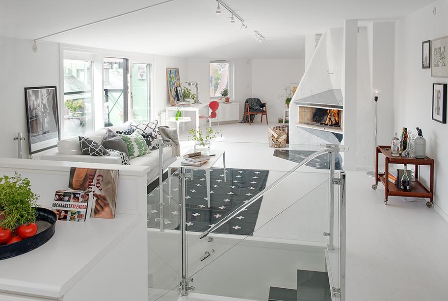 decoracao apartamento branco sala 3