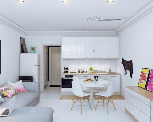 decoracao apartamento branco sala 4