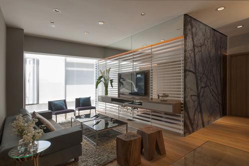decoracao apartamento moderno
