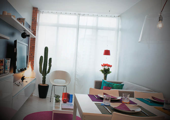 decoracao apartamento pequeno alugado