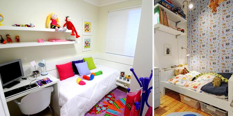 decoracao apartamento pequeno quarto solteiro