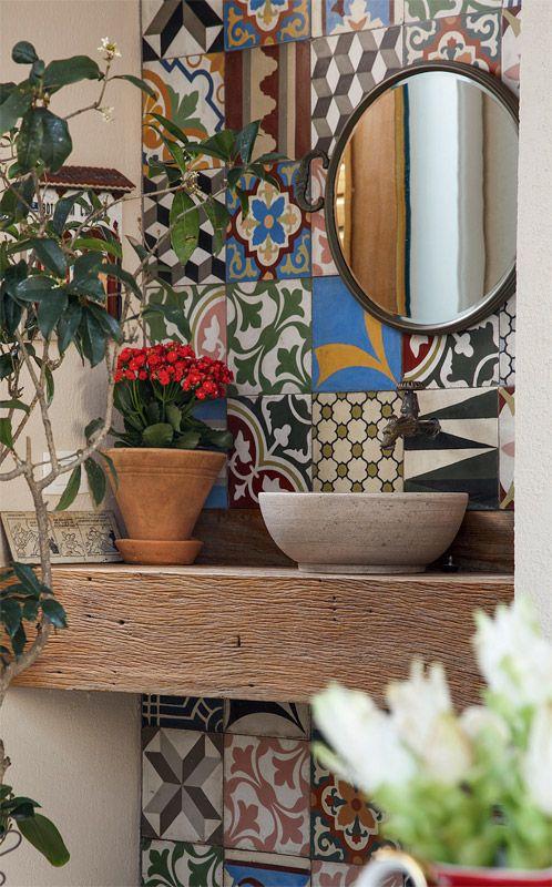 decoracao azulejos banheiro
