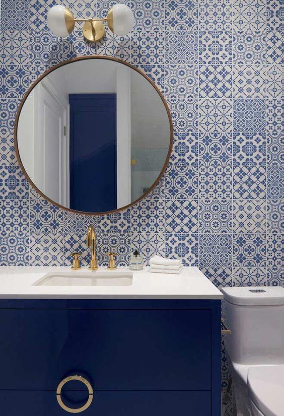 decoracao azulejos banheiros