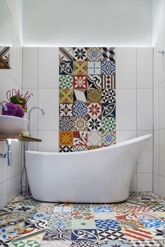 decoracao azulejos decorados banheiro 1