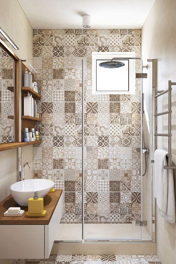 decoracao azulejos decorados banheiro