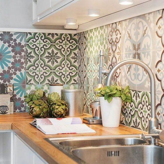 decoracao azulejos decorados cozinha