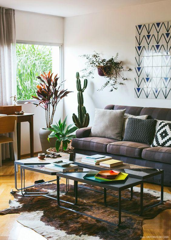 decoracao azulejos sala