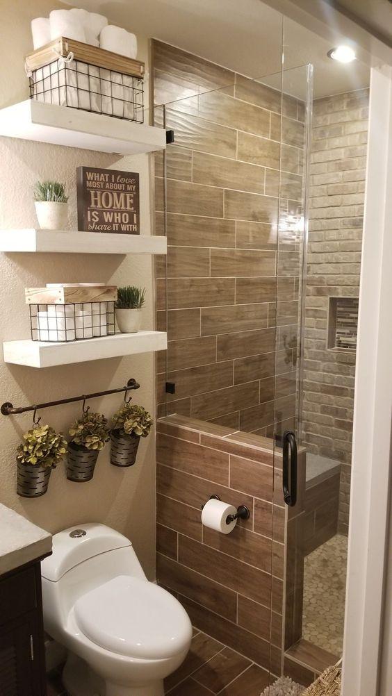 decoracao banheiro rustico casal