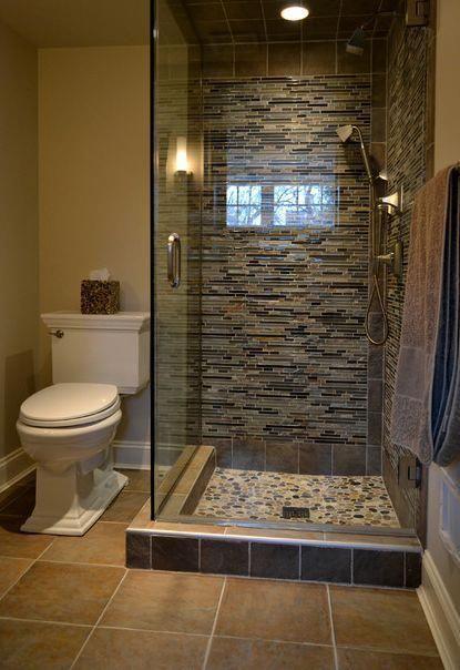 decoracao banheiro rustico pedra