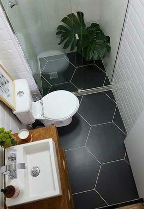 decoracao banheiro simples pequeno
