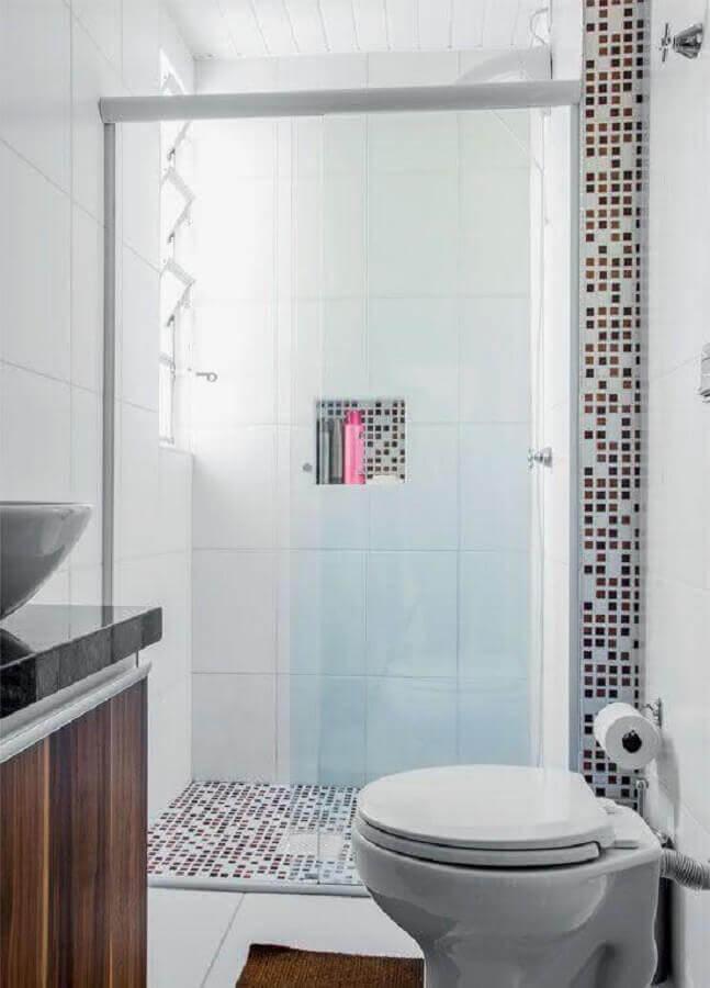 decoracao banheiros pequenos pastilhas