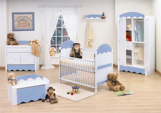 decoracao bebe quarto
