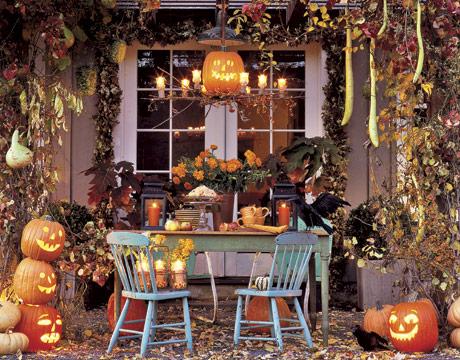 decoracao casa halloween