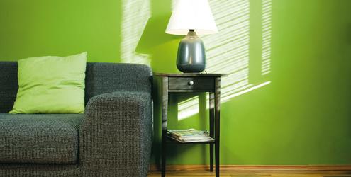 decoracao casa verde