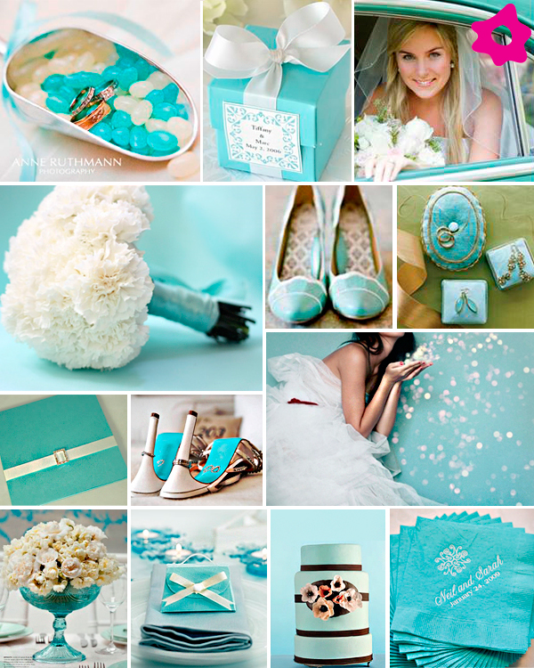 decoracao casamento azul tiffany