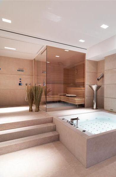 decoracao casas grandes banheiro moderno