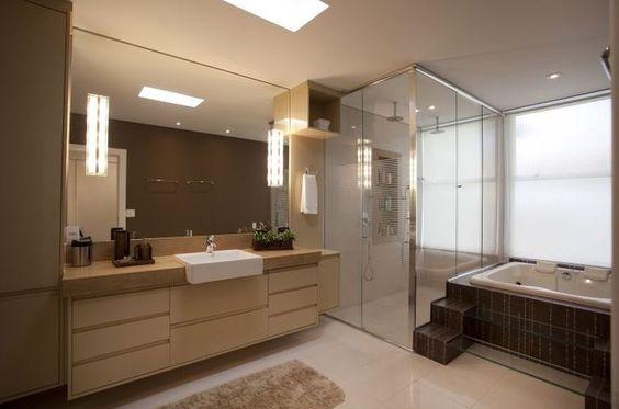 decoracao casas grandes banheiro
