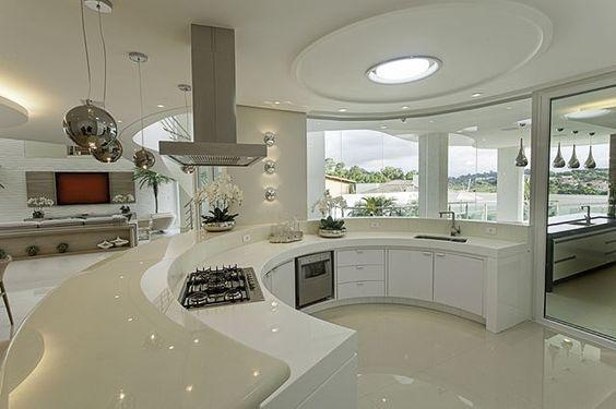 decoracao casas grandes cozinha