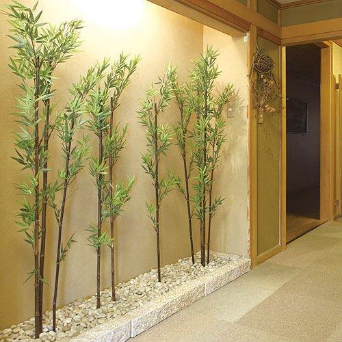 decoracao com bambu
