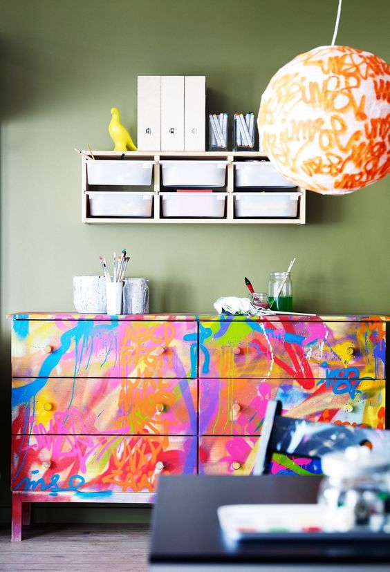 decoracao com cores