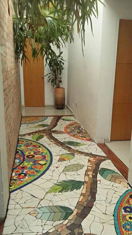 decoracao com mosaicos