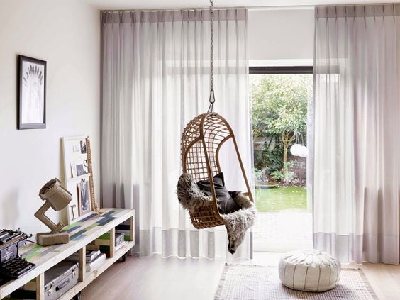 decoracao cortinas interiores estores
