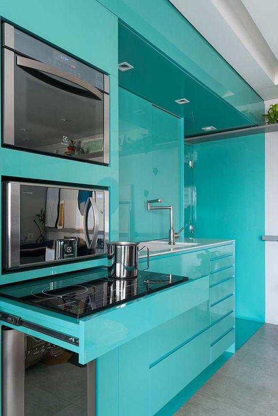 decoracao cozinha moderna colorida 1