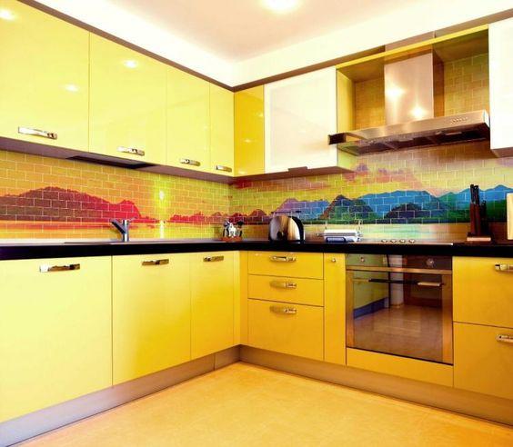 decoracao cozinha moderna colorida 5