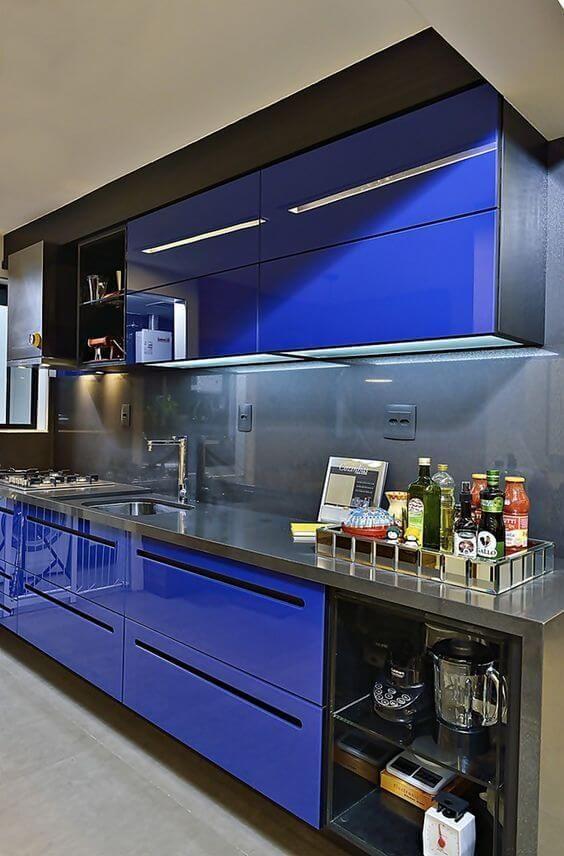 decoracao cozinha moderna colorida