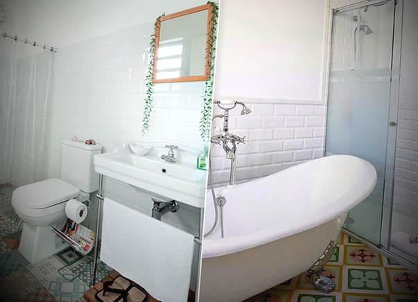 decoracao de banheiro com banheira