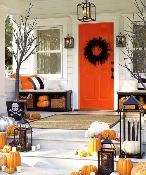 decoracao de casa para o halloween