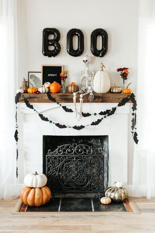 decoracao de halloween