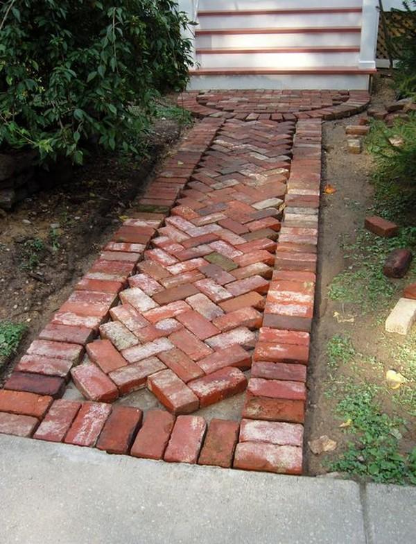 decoracao de jardins com tijolos 10