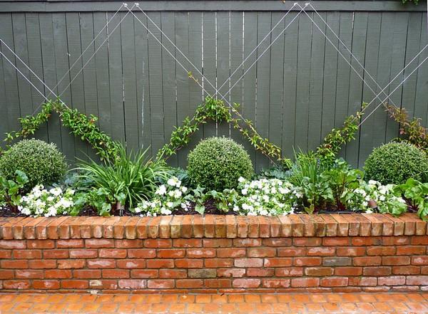 decoracao de jardins com tijolos 3