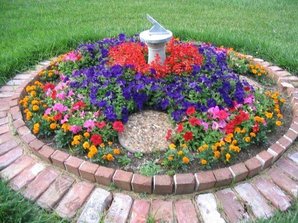 decoracao de jardins com tijolos 5