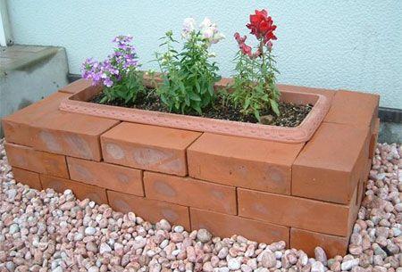 decoracao de jardins com tijolos 6