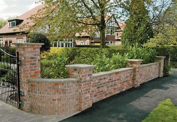 decoracao de jardins com tijolos 7