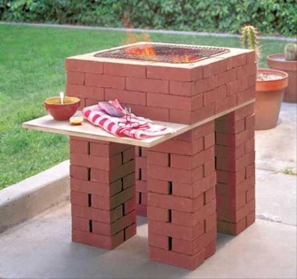 decoracao de jardins com tijolos