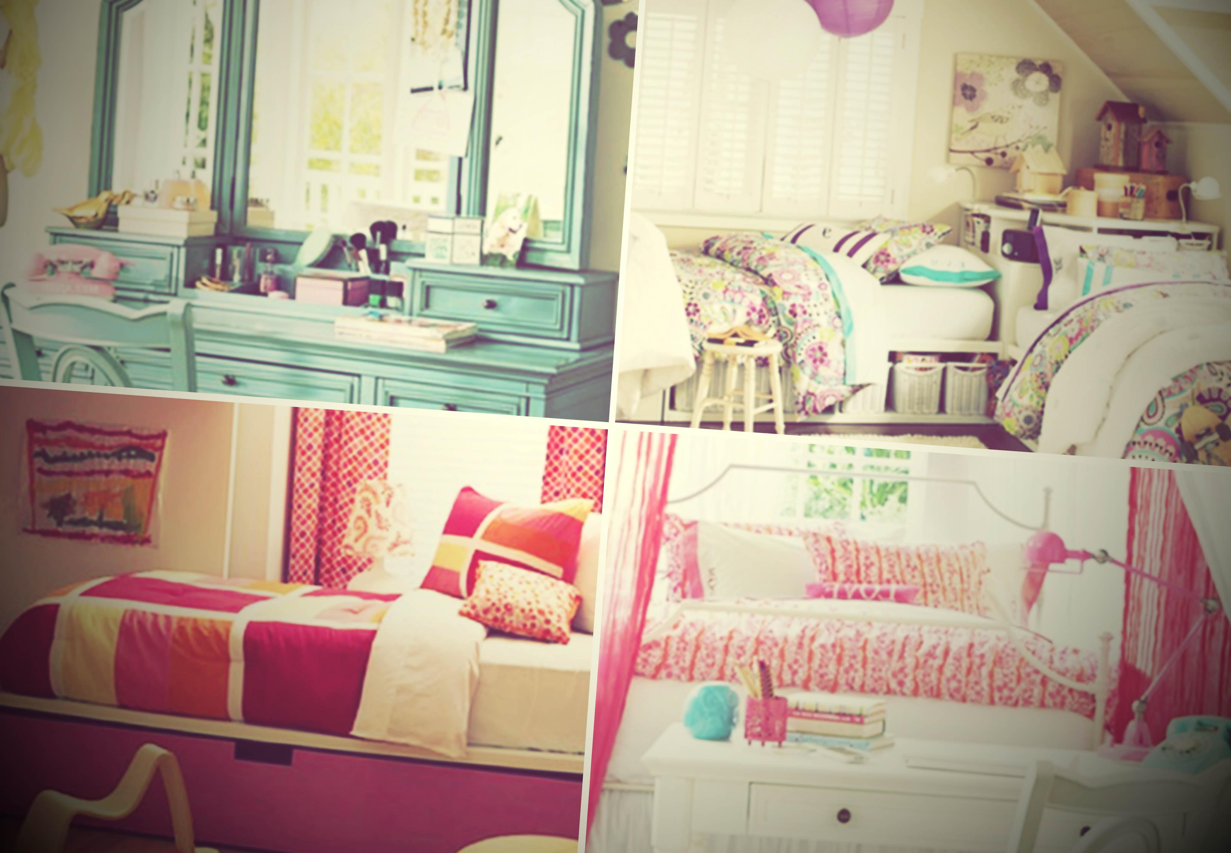 decoracao de quarto feminino